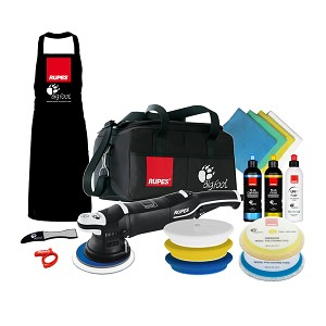 Rupes LHR 21 Mark III Big Foot Random Orbital Polisher - Complete Kit