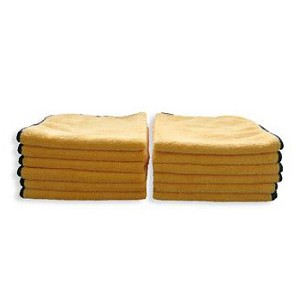 "Microfiber Super Towel 16"" x 24"" - Yellow"