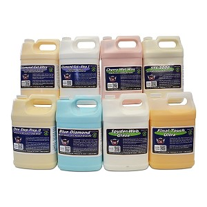 One Gallon Each Of Our Finishes
