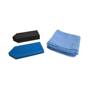 Optimum Two-Piece Applicator w/ 20 Microfiber Suede Cloths