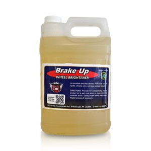 Brake Up Wheel Brightener - For Extremely Dirty Wheels