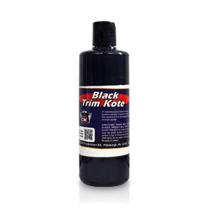 Trim Kote Car Trim Restorer - Black 16 oz