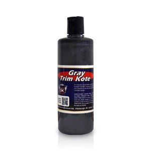 Trim Kote Car Trim Restorer - Gray 16 oz