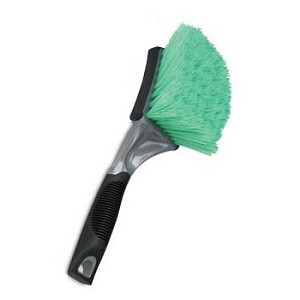 Professional Soft Grip Grill & Body Brush - Green Bristles
