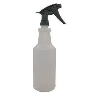 Quart Bottle w/Chemical Resistant Sprayer (Gray)