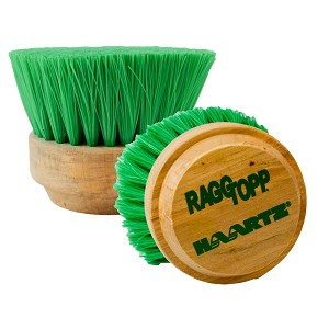 Raggtopp Round Green Nylex Premium Convertible Top Brush