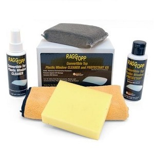 RaggTopp Plastic Window Cleaner and Protectant Kit