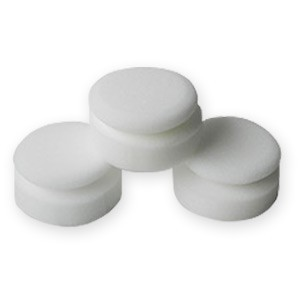 Deluxe Round Wax & Dressing Applicator - 3 Pack