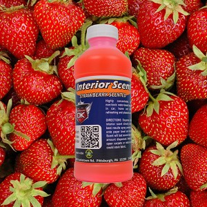 Strawberry Interior Car Scent Concentrate