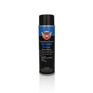 Streak Free Glass Cleaner Spray