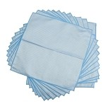 Ultra Microfiber Blue Diamond Glass Towels 16