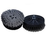 Cyclo Stiff Bristle Scrub Brushes - Black (1 Pair)