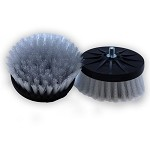 Cyclo Shampoo Scrub Brushes - White (1 Pair)