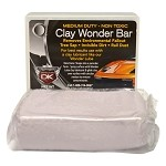 Auto Detailing Clay Wonder Bar - Medium Duty