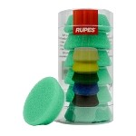 Rupes Green Medium Foam Pad - 40mm (1.5 inch) 6 pack