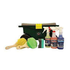 Car Care Tire & Wheel Kit w/ Cart