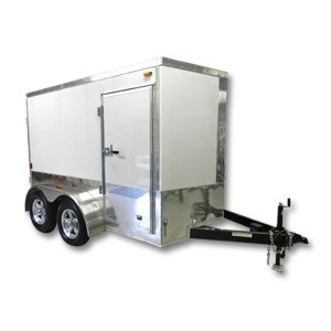 Mobile Auto Detailing Trailer 6'x10' Custom Enclosed