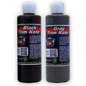 Trim Kote Car Trim Restorer - Black & Gray 16 oz