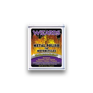 Wizards Metal Polish For Motorcycles